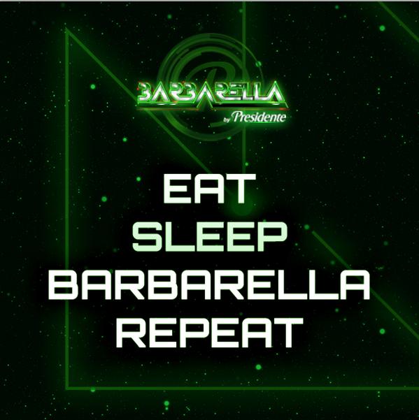 Esta es la rutina pre #Barbarella2014, básicamente. http://t.co/pdyWSu5f5v