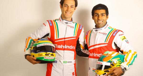 .@MahindraRacing Announces @karunchandhok, @BSenna as its Drivers for the @FIAformulaE http://t.co/R42uAO4158 #Racing http://t.co/5Oh1aLcuLQ