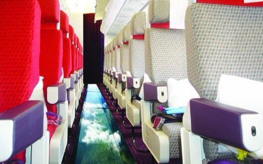 いやああああ!乗りたい! RT @yukayuka これは乗りたーい!! Virginの床スケスケ飛行機 http://t.co/agaDVXy53L http://t.co/8Ao5YMVvJG