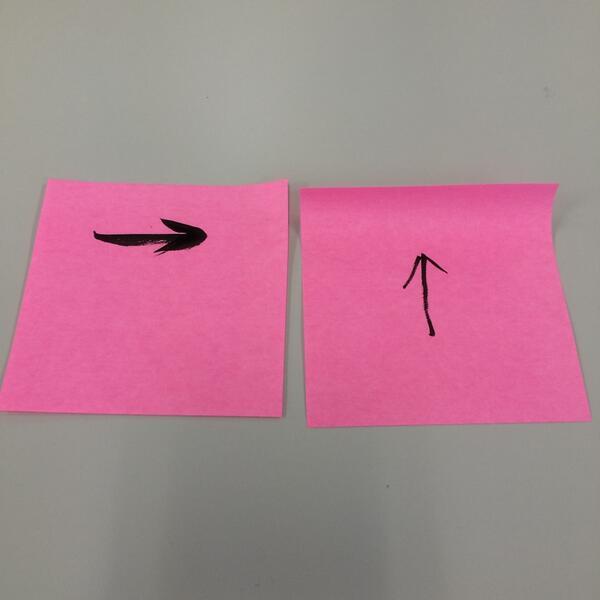 試してみた。強粘着タイプのふせんでも、横から剥がすと本当に丸まらないね。 RT @coromegane: ほんとにまるまらないんだぜ。 http://t.co/JbPkEFqIsC