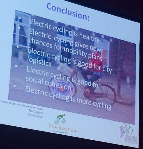 At the electric bike session; it's the future... #VCG14 http://t.co/59swyUX78e