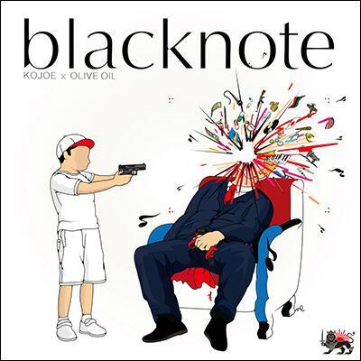 """7/2発売!KOJOE x OLIVE OIL [blacknote] 巷で発売が待たれていたKOJOEとOlive Oilのジョイントアルバム""""blacknote""""が完成。http://t.co/Nwm79y3Fzn http://t.co/I90VXDNRuz"""