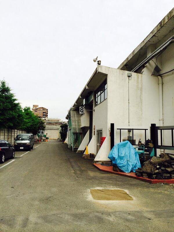 日活撮影所の8スタから東側が来週から取り壊され、マンションが立ちます http://t.co/KMlQHhCEOD