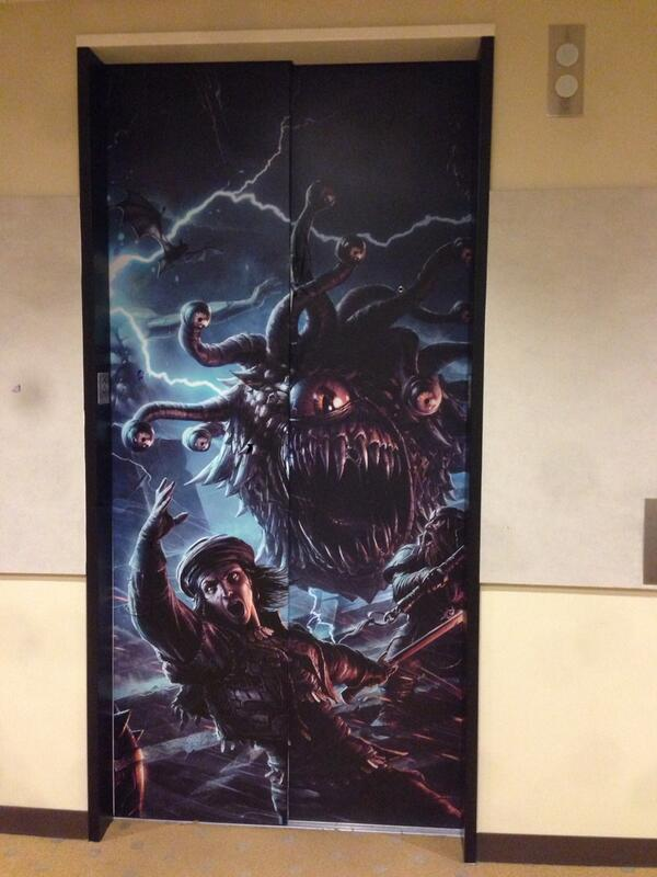Beware those who enter this elevator! (At Wizards.) #dnd #fb http://t.co/OQUHUeEAYv