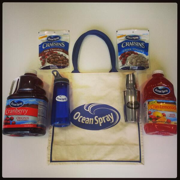 Tag @OceanSprayInc & share your #TimeToShine spring moments for a chance to win this spring gift pack! http://t.co/N8gyTdxptw