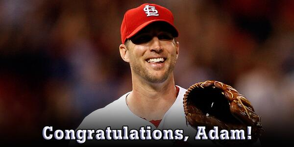 2-0, 21 Ks and a 0.00 ERA earn Adam Wainwright NL Player of the Week honors! http://pic.twitter.com/ICouOzakc6