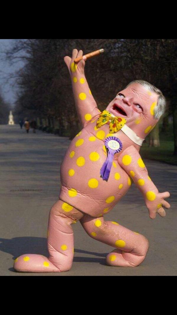 Nigel Farage looking pretty damn happy again today. http://t.co/S3btW0Ga6c