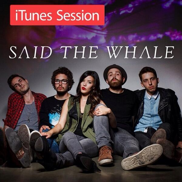 Grab @SaidTheWhale's new @iTunesMusic Session to hear live cuts of your favourite STW songs » http://t.co/SNL4IjVo2m http://t.co/dxigSkRqfK