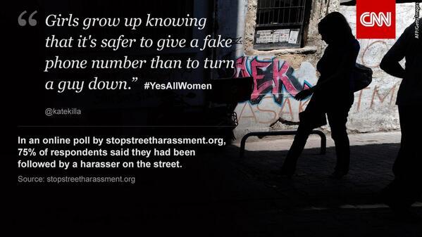 Why #YesAllWomen took off on Twitter: http://t.co/Tk4xTUwgZw http://t.co/Y8eqkDnFz2