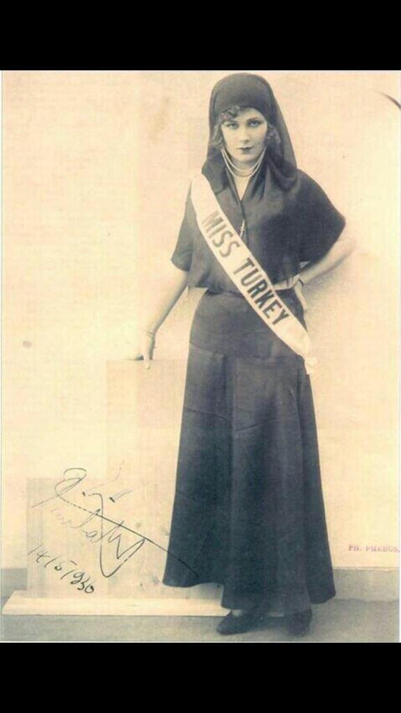 Keriman Halis Miss Turkey 1932 ... http://t.co/tfFZwBfyOu