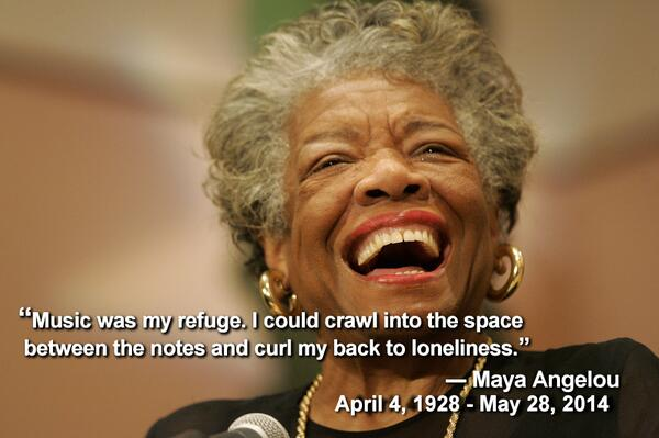 Singer, professor, author, and arts advocate Maya Angelou has passed away.. Her unique wisdom will be greatly missed. http://t.co/g3gVtqbTqD