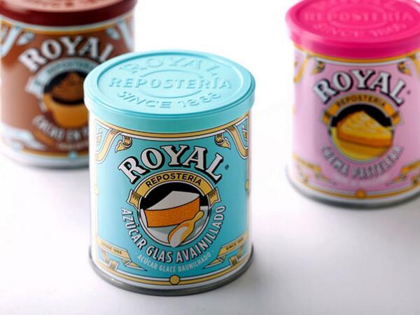 Rebrand de pó Royal, pela catalana Columna, reforça o caráter histórico da marca trazendo cor http://t.co/cAPdjJugGS http://t.co/14hbZL8E85