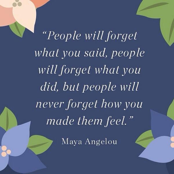 Today we lost a phenomenal woman. RIP, Maya Angelou. http://t.co/Va4Jofk0Iq