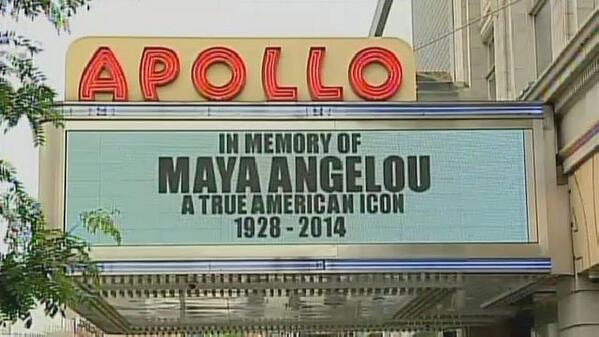 Harlem Remembers Maya Angelou as Literary Icon, Neighbor http://t.co/eDL2C4VYWe http://t.co/mrTHNLxpDN