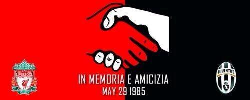 RIP the 39 who died at Heysel, In memoria e amicizia. http://t.co/jNDTwD0Vy5