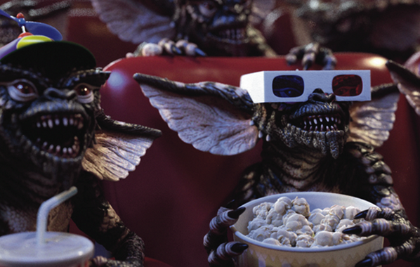 30th anniversary of classic #Gremlins, SOMEONE fed after midnight spawning bad copycats http://pic.twitter.com/yq0TXxeeXE