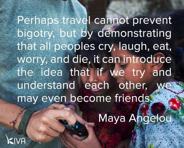 Beautiful words from #MayaAngelou remind us we're all in this together. http://t.co/Owv1YLIBR2