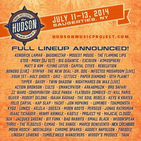Retweet this for a chance to win two tickets to the @hudson_project July 11-13 in Saugerties, NY!! http://t.co/KlSiU6k9gD