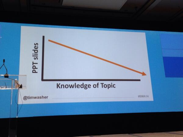 Best slide ever  @timwasher #bma14 #truth http://t.co/nhRzefrhVg
