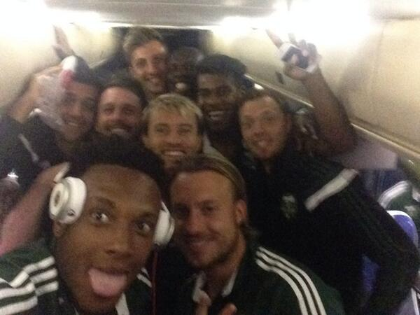 6 points in the bag after back to back road wins is a huge step forward. Happy to be back with the team! #RCTID http://t.co/2NMd35MtjX
