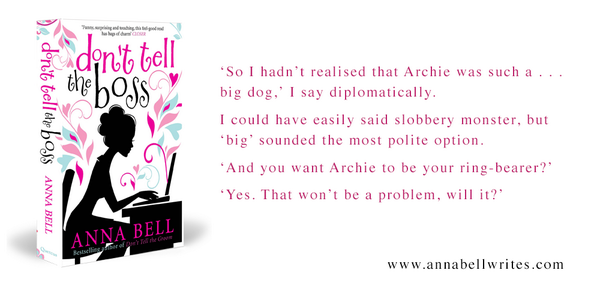 Enter to win new bk Don't Tell The Boss AND Don't Tell The Groom by following @AnnaBell_writes & RT this card by 5pm! http://t.co/fsnAN0Ap1p