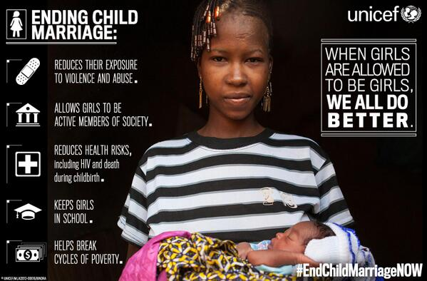 This week @UN agencies welcomed African-led push to #EndChildMarriageNOW  http://t.co/gizZKntIpw http://t.co/rPZCtIL24L