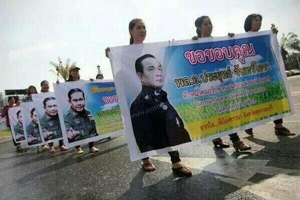 Spontaneous & creative grass-roots show of support for #ThaiCoup  http://t.co/LUrQBzmSnu via @engelmei @fratticcioli