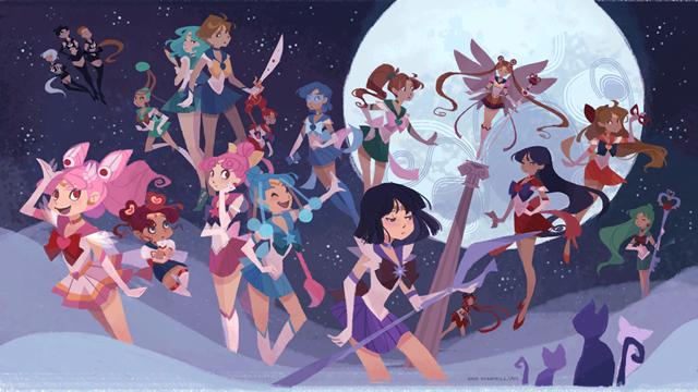 """RT @M3diicaL: @vileplumexvx  """"@Kotaku If Sailor Moon had been a western cartoon: http://t.co/JtUBEIjhm8"""