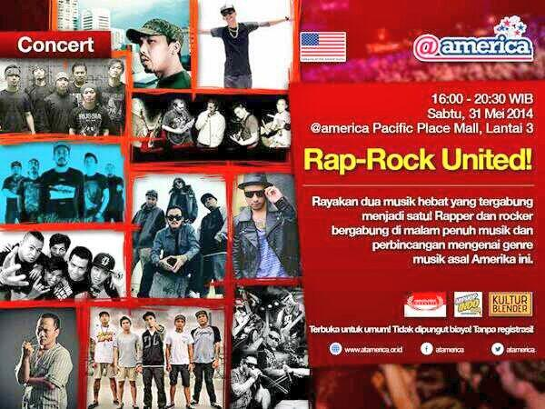 Come tomorrow to @atamerica for @RAPROCK_UNITED Concert FREE ENTRY!! http://t.co/qcPdPTj9vC Witness our collab.w/ @Tujuhkurcaci !!