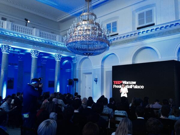 It's happening right now! #TEDxWarsaw.PresidentialPalace #TEDx10000 http://t.co/vdtrN8BzQ5