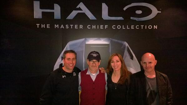 Spielberg and #Halo with @PlutonForEver and @franklez. So cool! http://t.co/YP6E8F6fkq