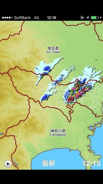 23区の皆様。今すぐ東京アメッシュを確認してみてくださいなー。やばそうなのが来てます。雨が上がったら、虹のチェックもお忘れなく。 http://t.co/zsIr1FIwFS
