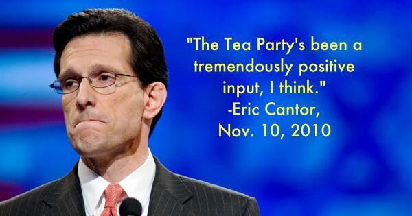 Eric Cantor obviously can see the future...#va07 http://t.co/O8il2BFqHs