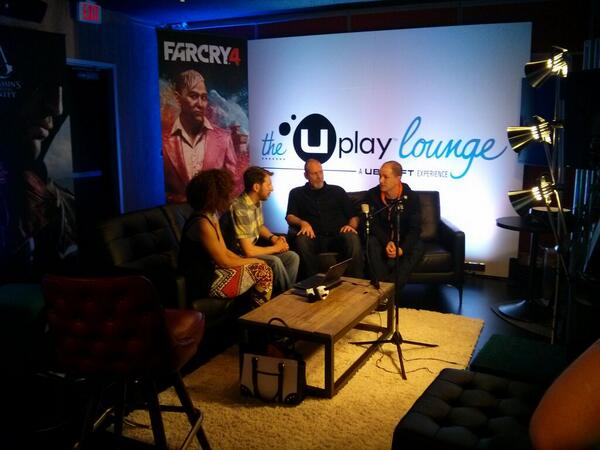 If you're not watching http://t.co/fvlrkPndTP, you are missing an awesome #FarCry4 interview in the #uplaylounge! http://t.co/jl5B9RTGPO