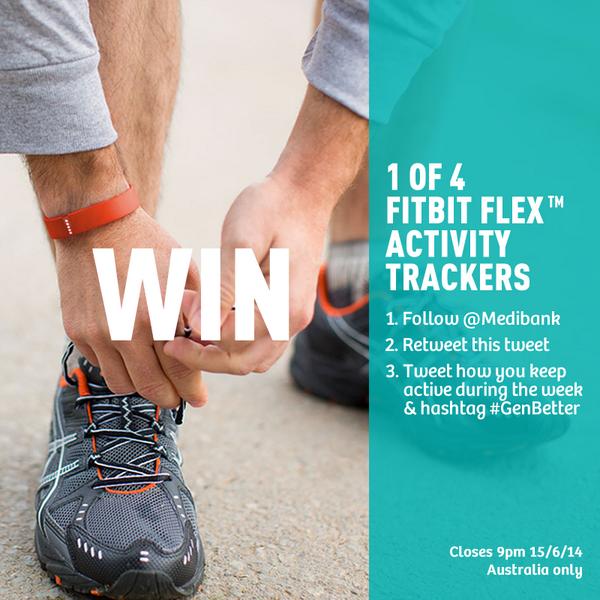 You could WIN a Fitbit Flex! http://t.co/n8llYskG6p #fitbit #competition #genbetter http://t.co/ulNHx5KSeF