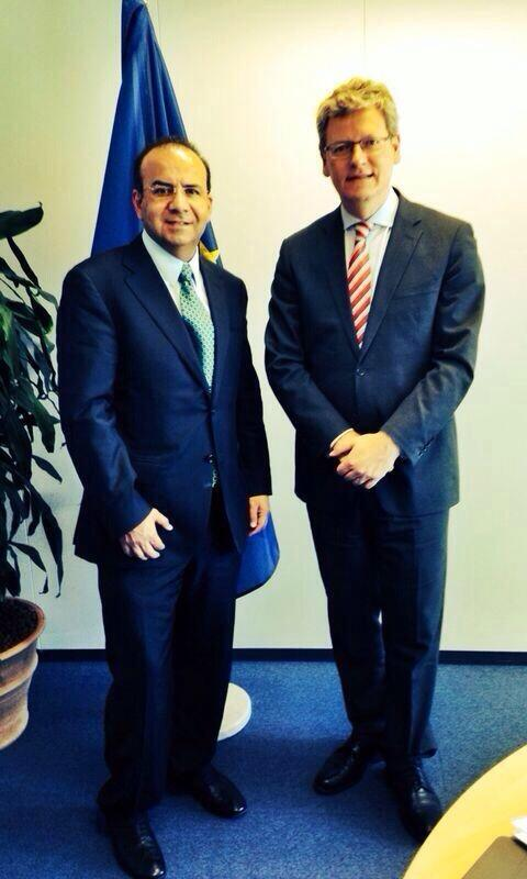 Mexico's Labour Minister @NavarretePrida is now in Brussels, where he met with @LaszloAndorEU vía @JJGomezCamacho http://t.co/82eecCDBXf