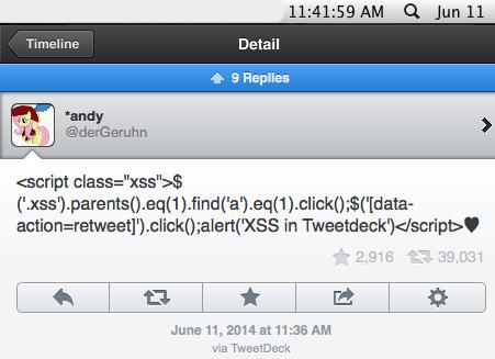 You ever seen 40k retweets in 5 minutes? The @TweetDeck team has. /cc @mikko http://t.co/cJKAWPTk0Z