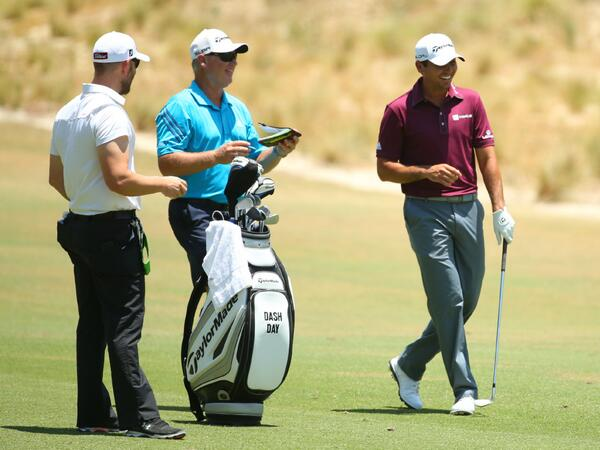 For Father's Day, @JDayGolf stitched the name of his son, Dash, to his #USOpen bag. http://t.co/kb6GZwKqek #JasonDay http://t.co/ZiYHfmWSM1