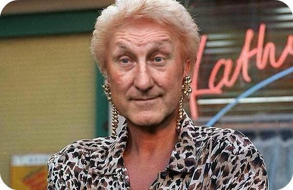 Terry Butcher as Pat Butcher is just funny! http://t.co/xSv4SsUbyc