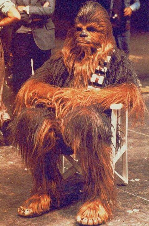 Chewbacca takes a break, 1976 http://t.co/nYVY20DQfo