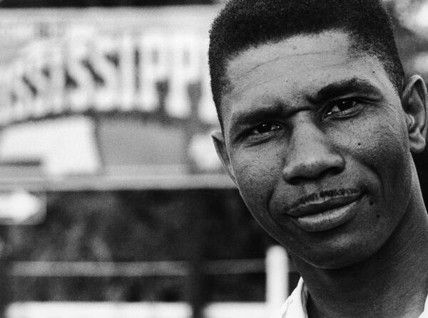 Here Medgar Evers (1958), assassinated in Miss. after midnight tonight 1963,