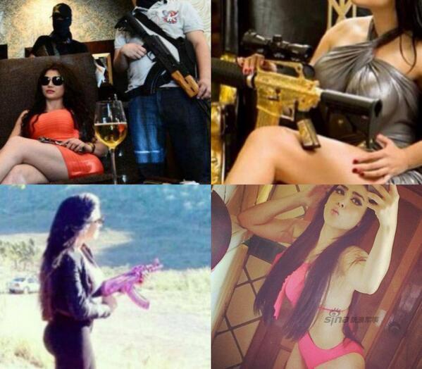 メキシコの女ボス。こんな顔して警官殺し、パトカーの上に生首4つ並べたりするんだよ、タマランね。 http://t.co/e0xu38NYSa