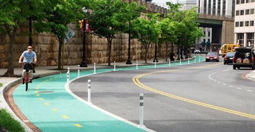 Now that's a bike lane. (Copenhagen and Amsterdam, via Fast Co.) http://t.co/IOmzDCfTMG