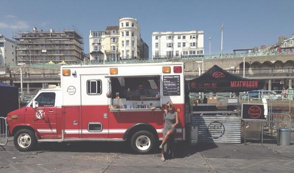 First outing of the summer @BrightonsScreen and the sun is shining. We'll be here until 13th July. http://t.co/oR9SXp1AFr