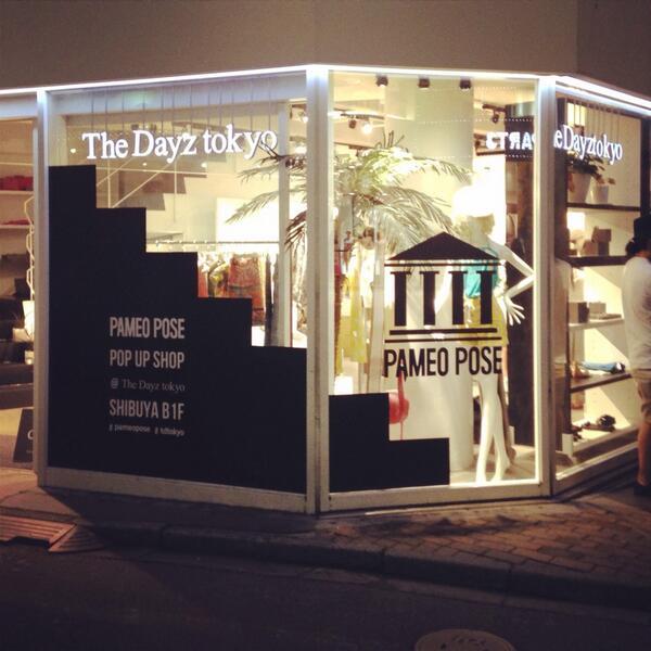 明日6/13(fri)からPAMEO POSE のPOP UP SHOPがThe Dayz tokyo渋谷のB1Fにてオープンします!✨