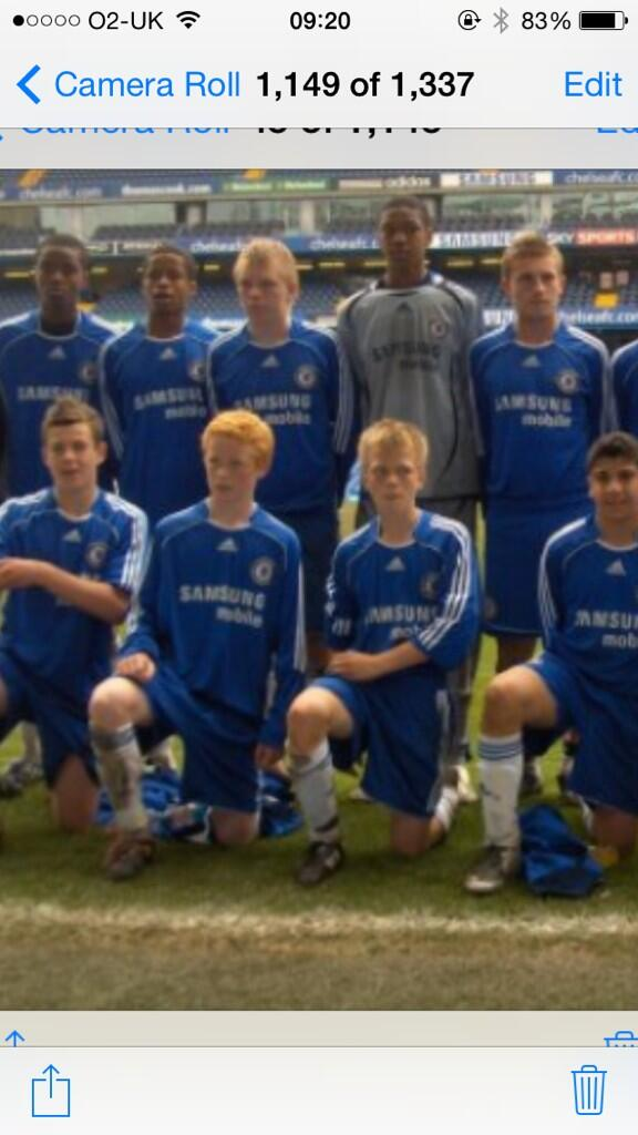 Big Throwback.. @chalobah @Big_Blacks @Adam_Gemili @GeorgeBowza9 what a team! http://t.co/THJZTO3WvA