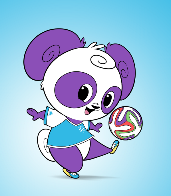 Pan's super excited for the #WorldCup, how about you? #teamhullabalu #soccer http://t.co/jhmbhT4dkE