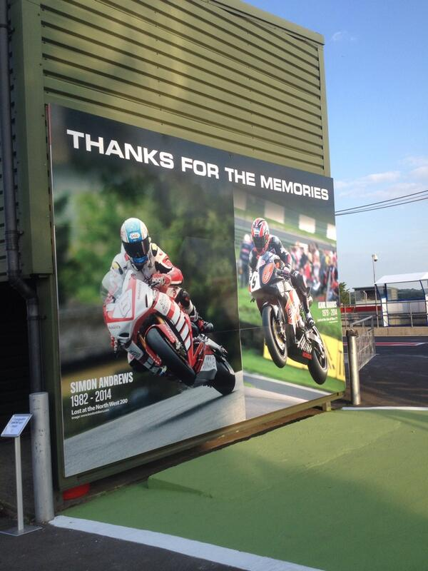 Part of our tribute to Simon Andrews and Karl Harris at @SnettertonMSV this weekend http://t.co/PJr3LxBXsn