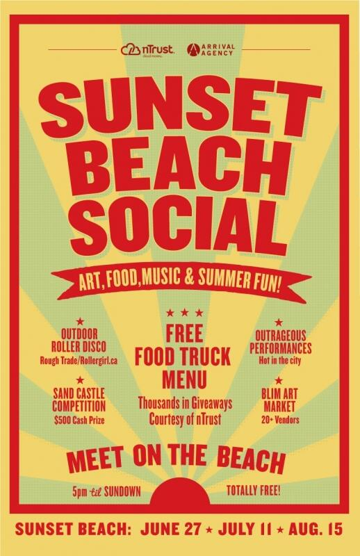 Just Announced! Party on the beach #SunsetBeachSocial!!! http://t.co/tRLhN2kuyk @ArrivalAgency @nTrust http://t.co/4ymp8SRNqa