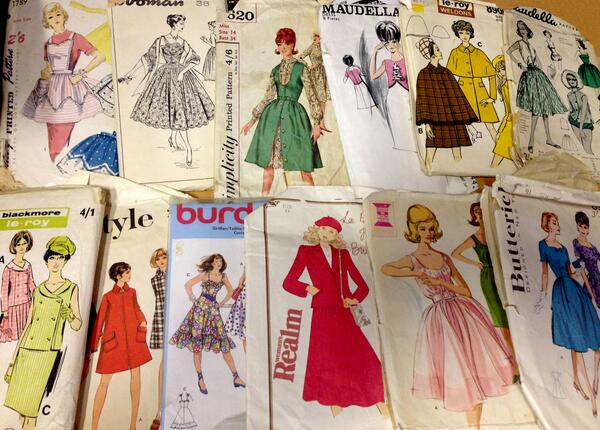 Emma from My Vintage (@emmabphilosophy): I have some absolutely beautiful vintage dress patterns in from the 50s, 60s and 70s... £10-£15 each. http://t.co/GcaYs7GDvy